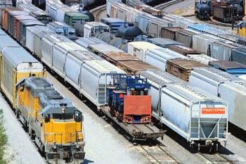 Доставка грузов на Северный Кавказ по железной дороге